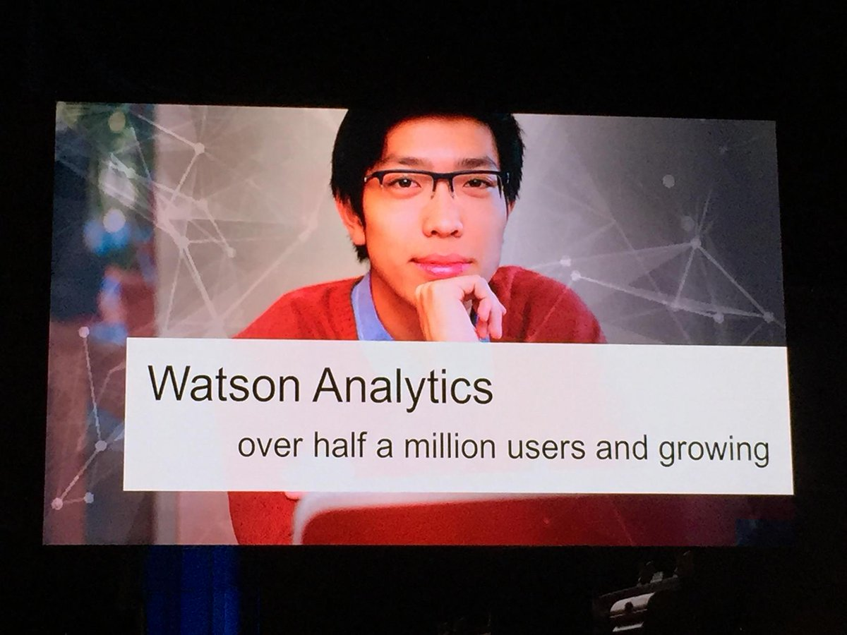 #watsonanalytics is now at half a million users and growing quickly! #analyticsforall http://t.co/CqmsmVmoFm