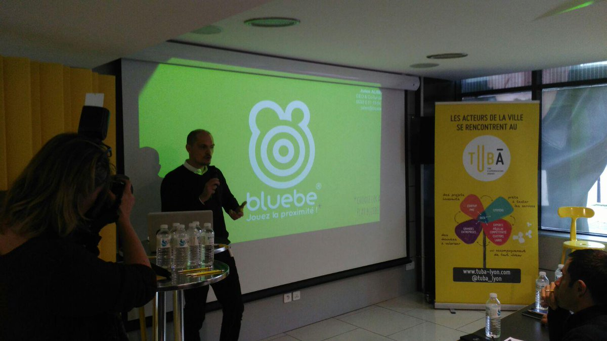 @apps_bluebe it's on the stage, you will learn more about the shops around you.  #SCAH_LYON http://t.co/DeXh9Yo4e0