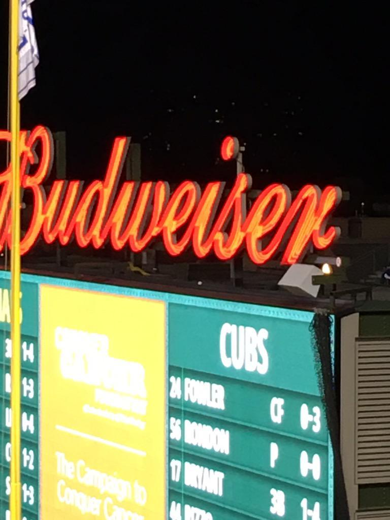 Where Kyle Schwarber's Home Run Actually Ended up