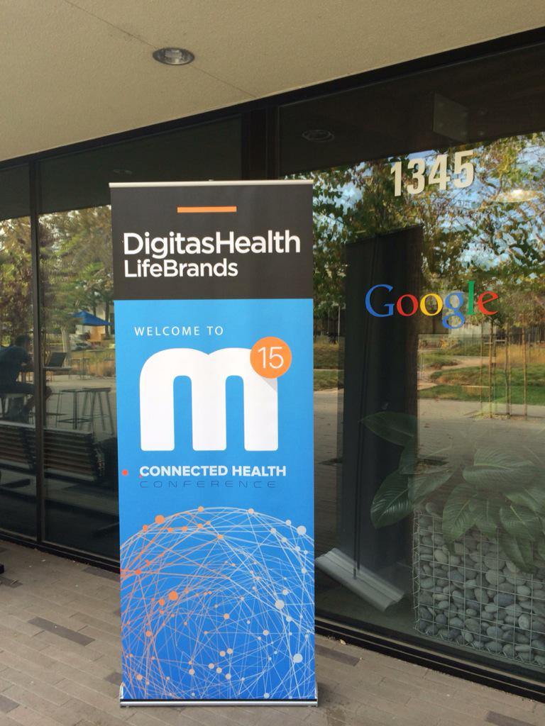 Kicking off #mdot15 from Google HQ in CA! Follow @Digitas_Health for live updates all day http://t.co/hcI8LO5c29