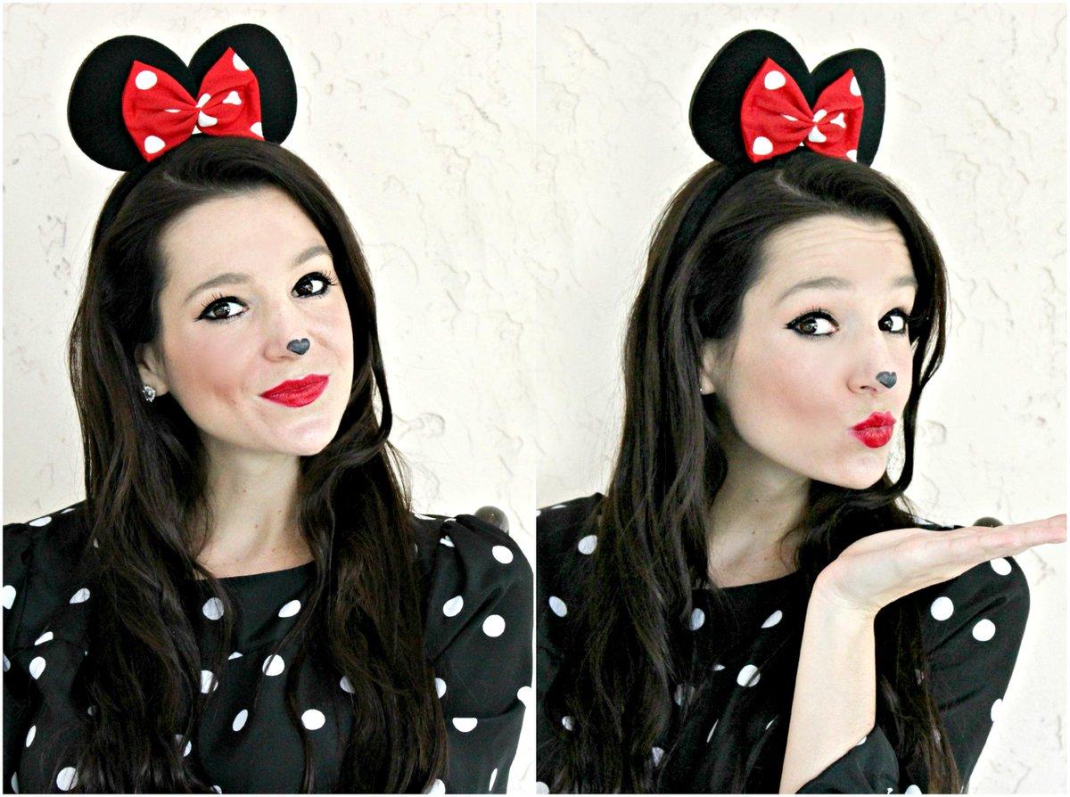 Cute mouse makeup tutorial: http://bit.ly/1Llalf8 @Neutrogena @Walmart #HallowCleanFaceOff #adpic.twitter.com/vdbGunSd6i