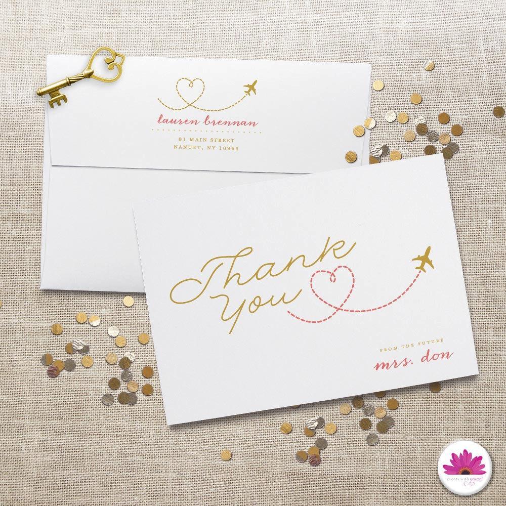 Iain Pompei ModnToastmaster – Destination Wedding Thank You Cards