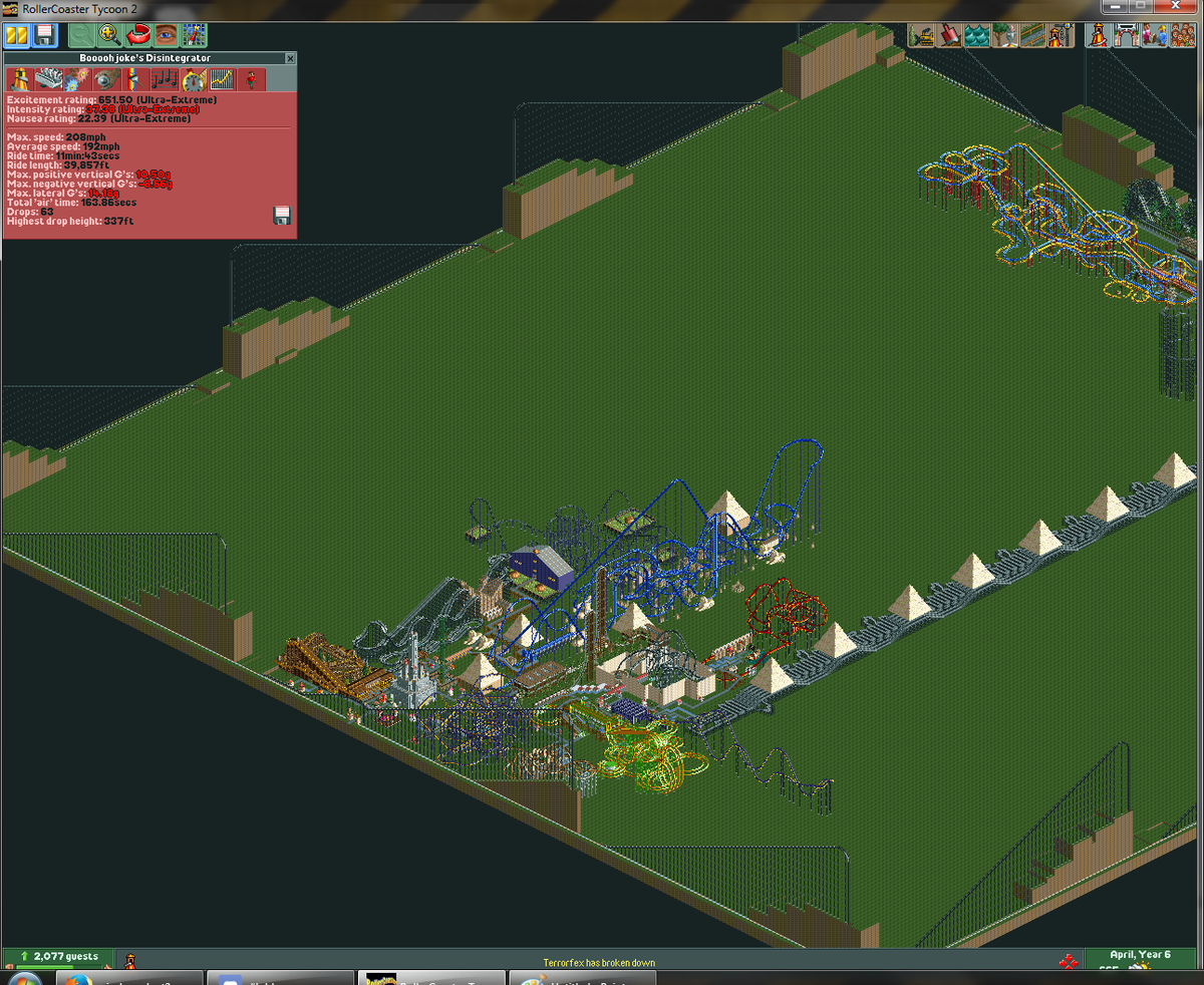 rollercoastertycoon2 hashtag on Twitter
