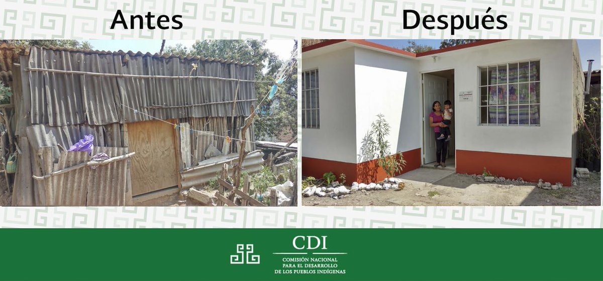El @gobmx, @sedatu_mx, @fonhapo y la #CDI trabajan en conjunto para brindar viviendas a familias #indígenas. http://t.co/4hKegTEywT