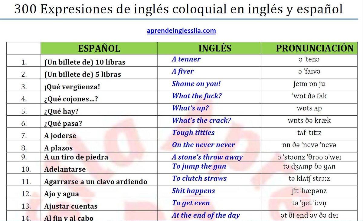 """Aprende Inglés-Sila on Twitter: """"300 palabras y ..."""