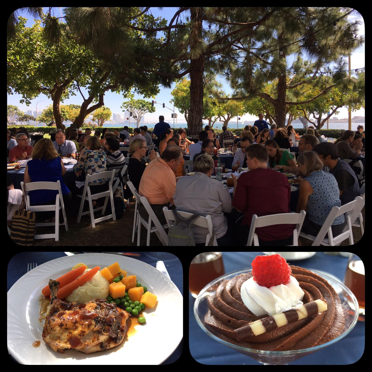 Beautiful outdoor setting for #NAAEE2015's lunch! Fitting for a bunch of environmental educators! http://t.co/jcsyC0ZRIp