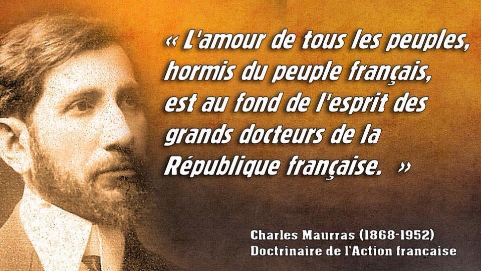 """Jérémy TRIBOQUE ☣️ on Twitter: """"Cette citation de Charles #Maurras est  toujours très actuelle... http://t.co/grqNZJ2j7l"""""""