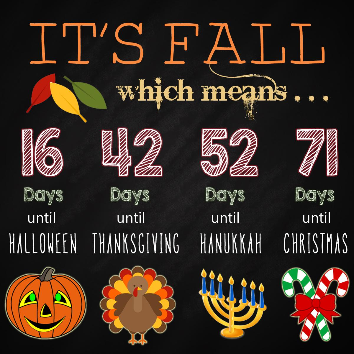 Halloween Thanksgiving Christmas Countdown.Silko Honda On Twitter Just Leaving This Right Here