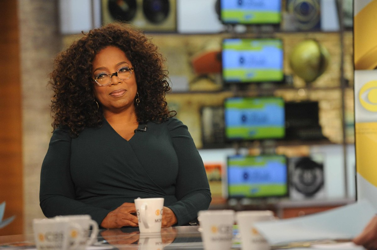 "Oprah: Gender pay gap conversation has hit ""critical moment"""