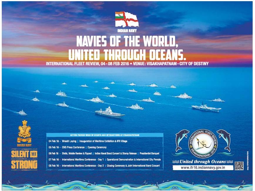 International Fleet Review 2016. Image Courtesy: twimg