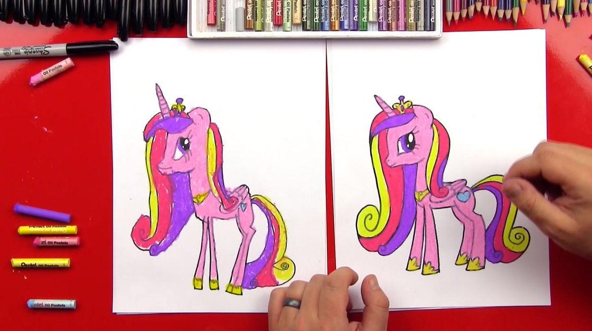 Art For Kids Hub On Twitter How To Draw Princess Cadence Http T Co Ciuv7w880f Http T Co 0wimf8xlkf