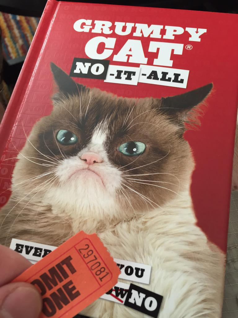We're #81 in the queue to see @RealGrumpyCat at @Powells in Beaverton at 7pm tonight. #No http://t.co/kkximx1jLl