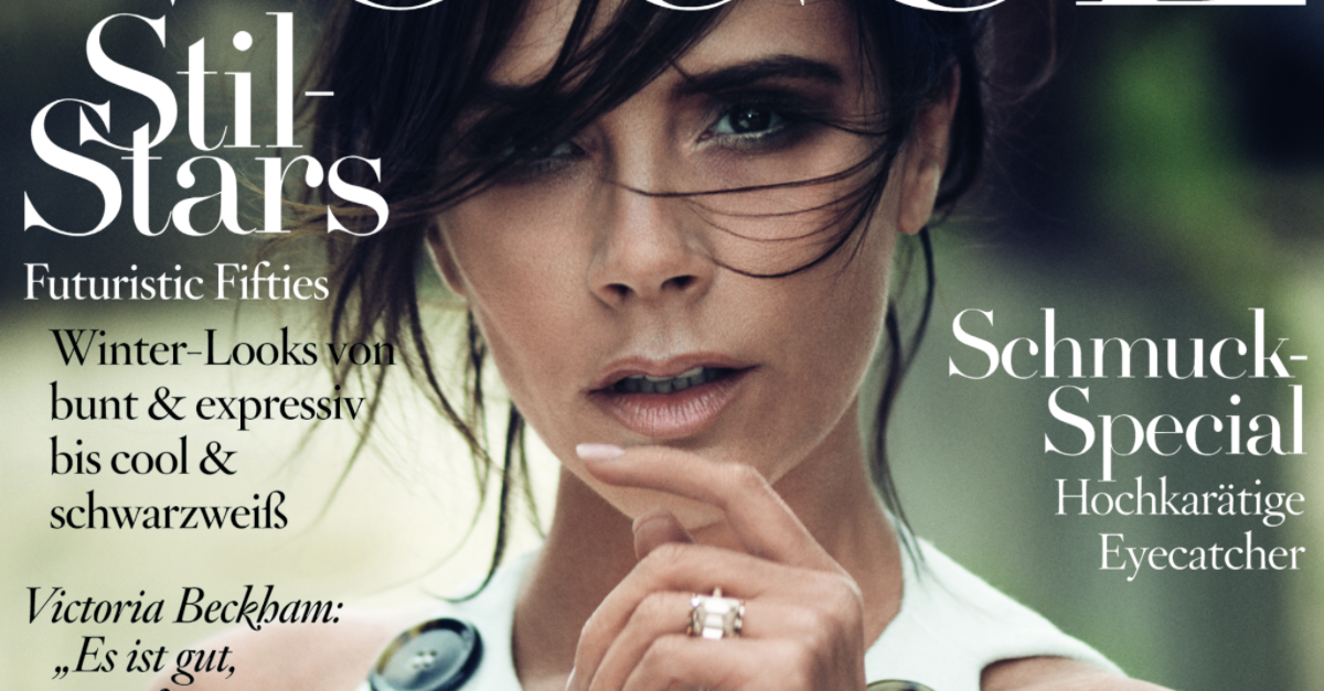 @victoriabeckham on the cover of #VogueGermany is everything and more. http://t.co/xDzcmvpFv5