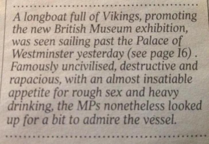 The meerkat keeper is a great opening sentence. But this, from the Times, is the best this year. http://t.co/MwG72hn49K