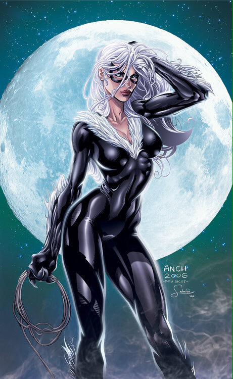 Rt Superhero Villain On Twitter Felicia Hardy Black Cat Http