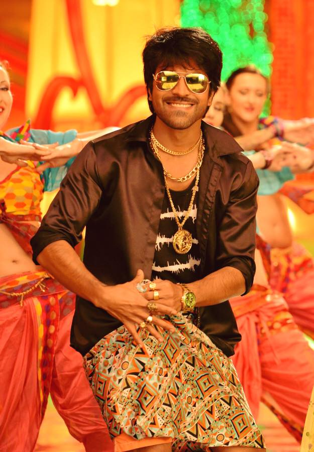 Ram Charan's Lungi Dance. Megastar Chiranjeevi's Look in Ram Charan's Bruce Lee the Fighter. Ram Charan is trying out a mass look for a mass song for the first time. Ram CHaran, bruce Lee Lungi Dance, Ram Charan, Lungi Dance, Bruce Lee the Fighter, Rakul Preet Singh