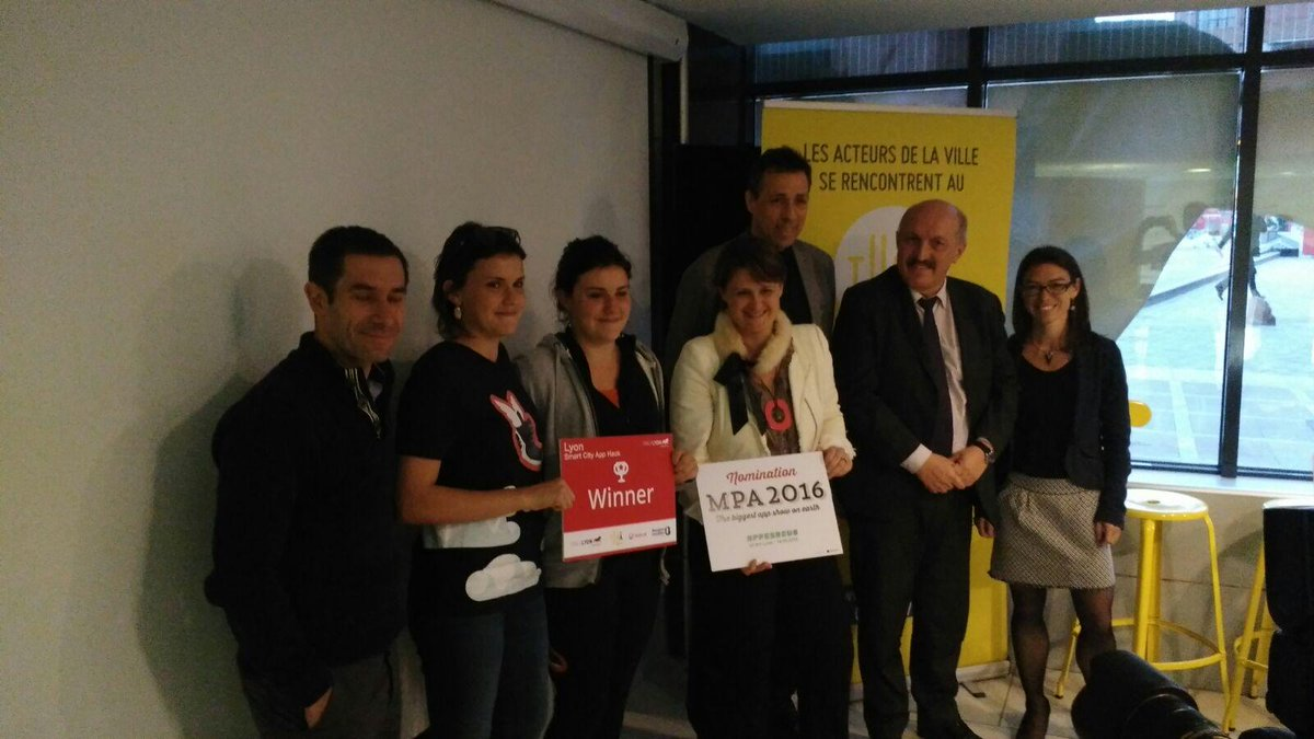#SCAH_LYON: The winner is @SeetyApp Congrats! See you at the #SCAH Global Final at @SmartCityexpo, in #Barcelone! http://t.co/MaYFIxAAOJ