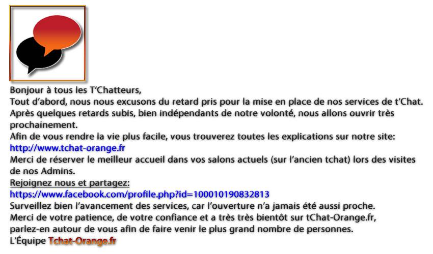 Tchat orange gratuit sans inscription