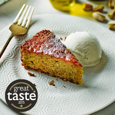 "ASK Italian on Twitter: ""Our Pistachio and Olive Oil Cake ..."