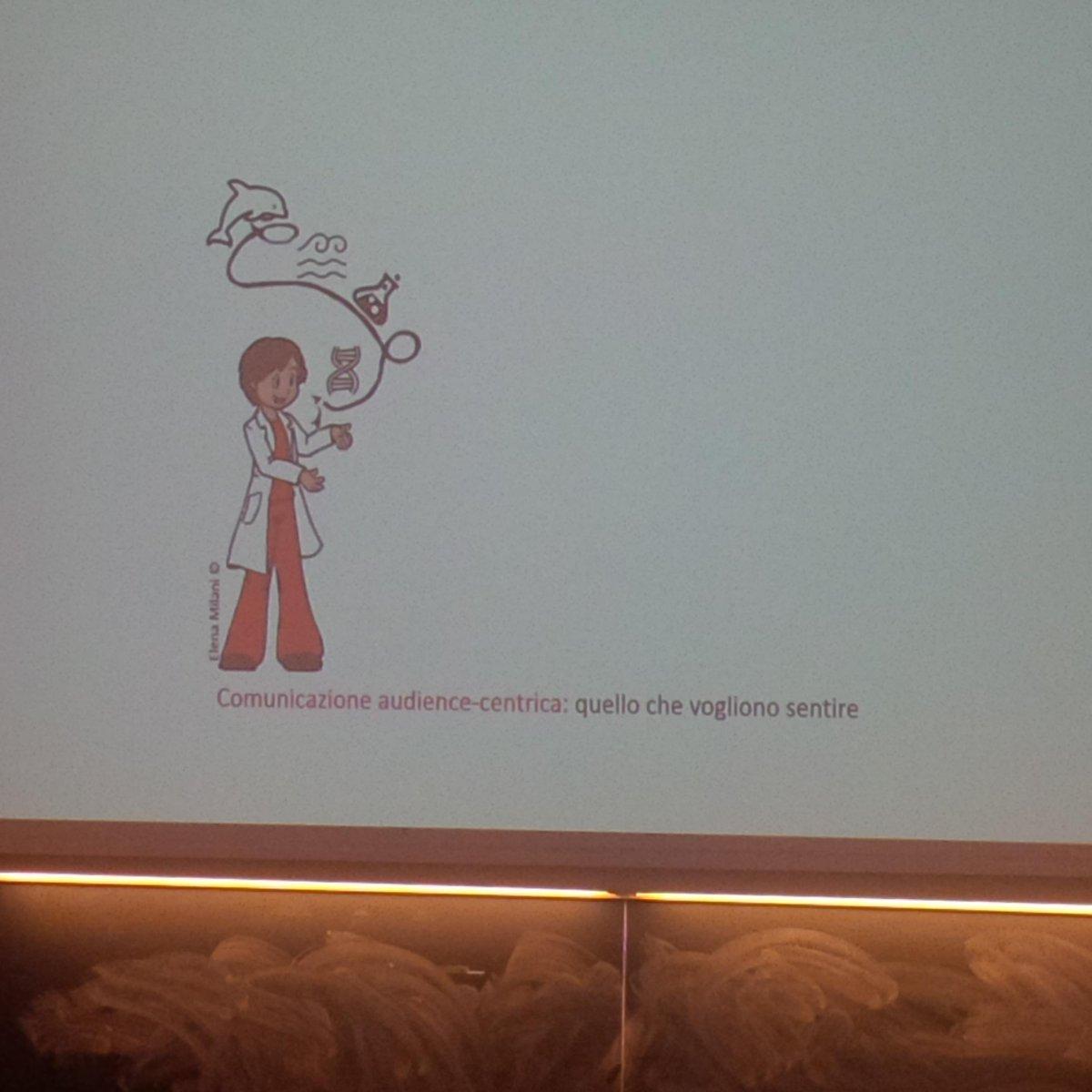 Comunicazione audience-centrica: la cosa principale é il #pubblico  @cristinarigutto a #scipar http://t.co/ZZcMmftc3k