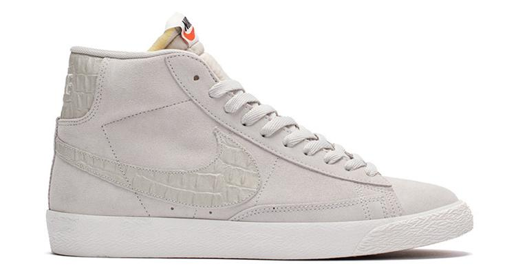 wholesale dealer ed0ab 20ba9 nike dresses the blazer mid prm in a clean light bone colorway for the fall