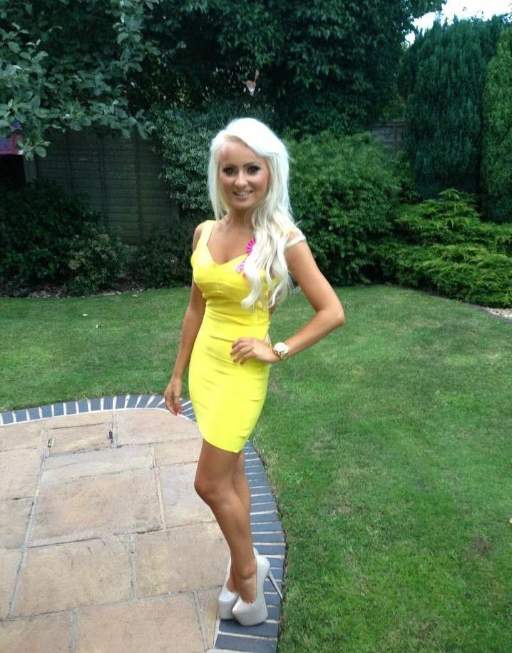 Hot Blondes In High Heels