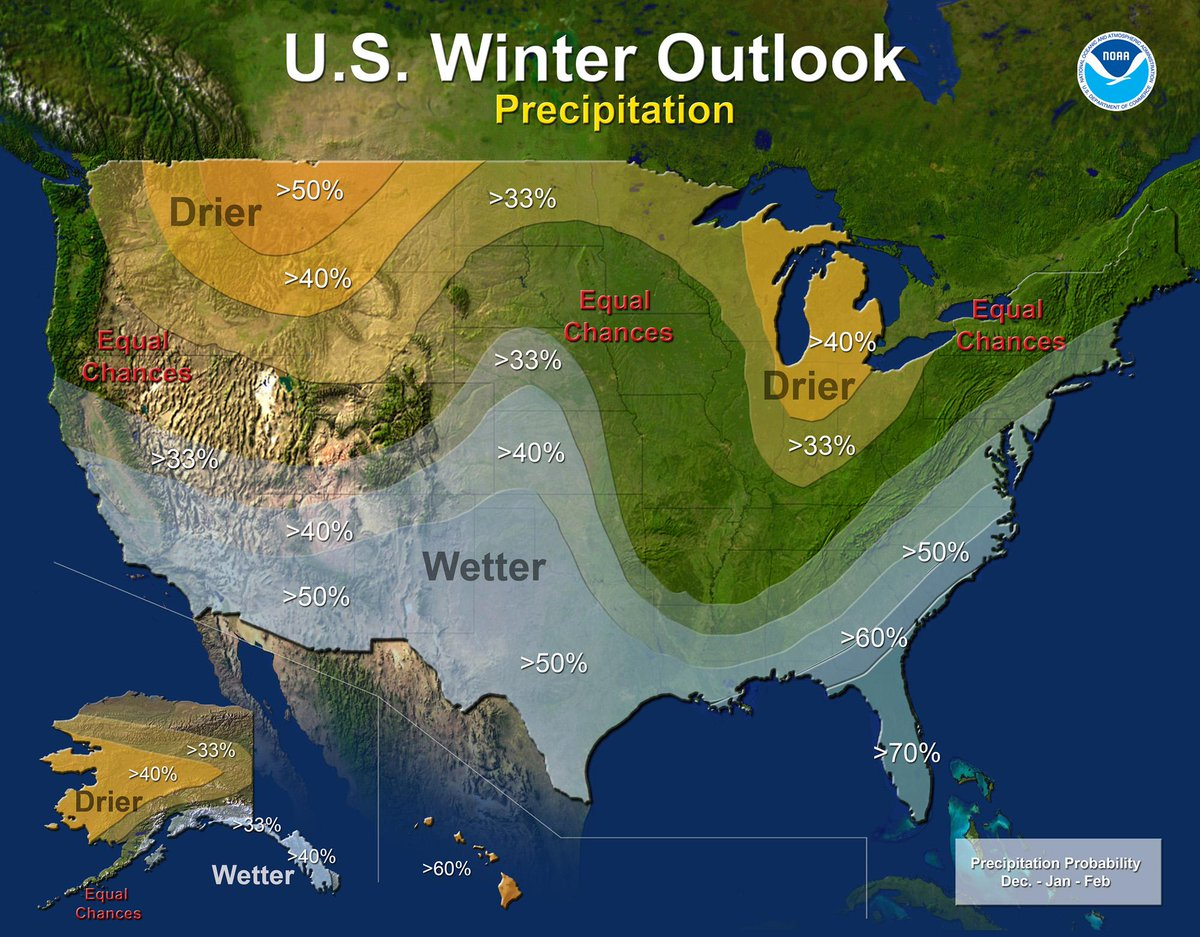 .@NWSCPC Winter Outlook issued today. High confidence of near to above normal precipitation across the South. #cawx http://t.co/eOcj7GmmKQ