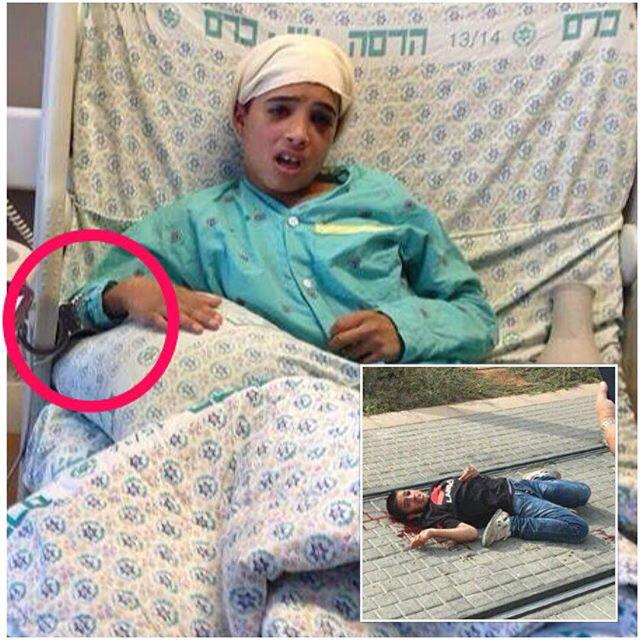 "Beds For 13 Year Olds abbas sarsour on twitter: ""the injured 13 year old ahmad manasrah"