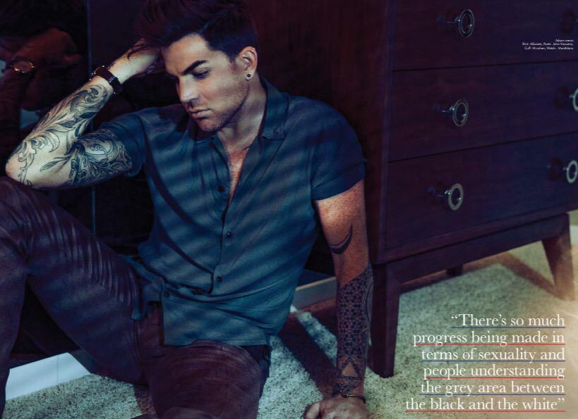Love this shot of @adamlambert I styled for @AttitudeMag http://t.co/l3zPoqV0Ni