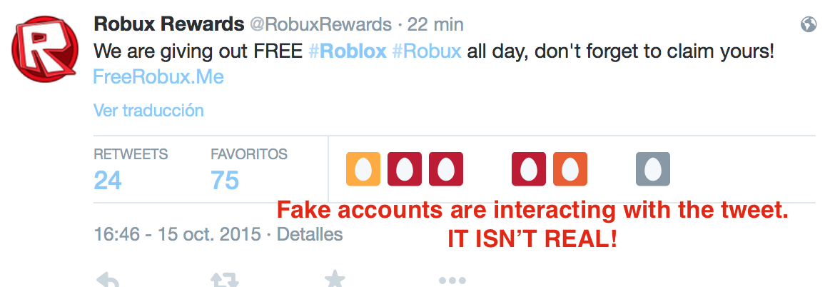 Roblox Scam Roblox Rewards Ruben On Twitter Do Not Fall For This Phishing Scam Roblox
