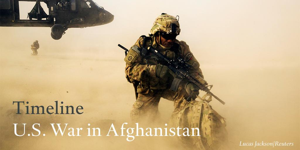 U.S. War in Afghanistan: Step by Step
