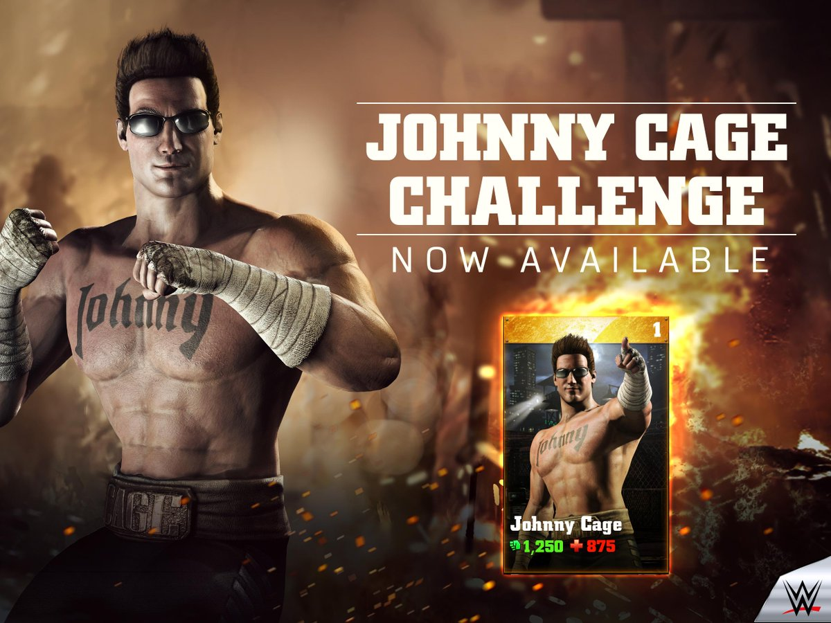 Johnny Cage Challenge For WWE Immortals Announced (with Promo Video)