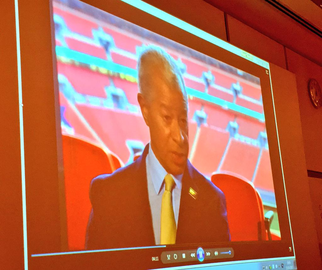 Here @UniofNottingham w/ Brendon Batson brief intro & now the audience watching the @kickitout 20th anniversary film http://t.co/Ix71axffYu