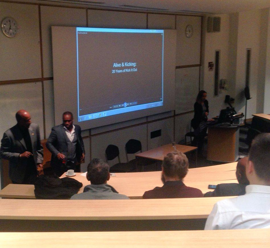 We're @UniofNottingham where Brendon Batson and @Towno10 are speaking to guests about our work: http://t.co/W2gZgmDOec