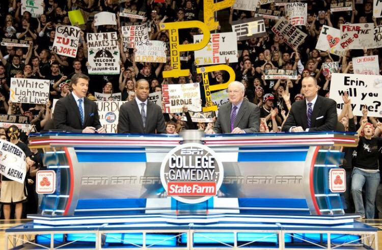 Dear @ESPNCBB ,  It's been a while.  What do you say we bring College GameDay back to Mackey this year? We miss you. http://t.co/Sjrq7aNbX4
