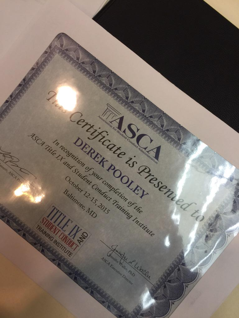 GUYS!  I MADE IT!!  #ascaIX thanks @TheASCA for a great few days!! #changinglives http://t.co/JhNu7iLtH9