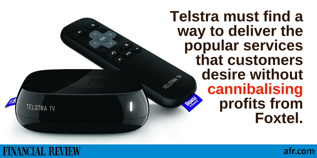 how to connect tesltra tv not a telstra tv