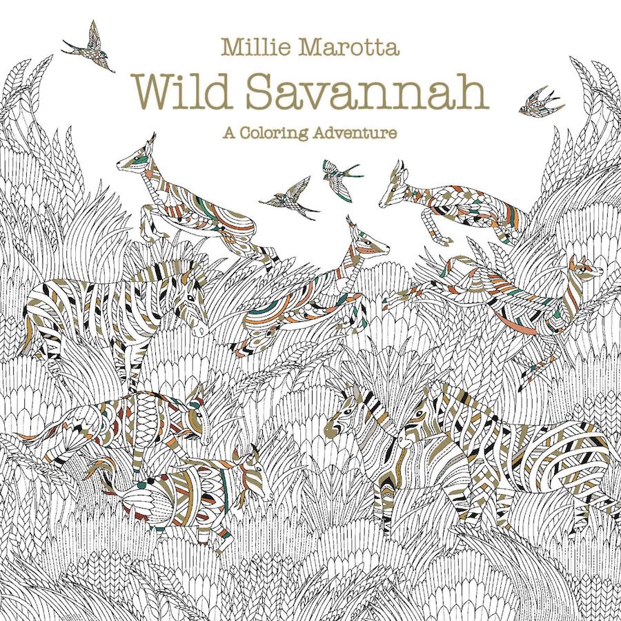 Pre Order The New Millie Marotta Coloring Book WILD SAVANNAH Here Tco F7jZ7SQYzH UU1bLcVsAl