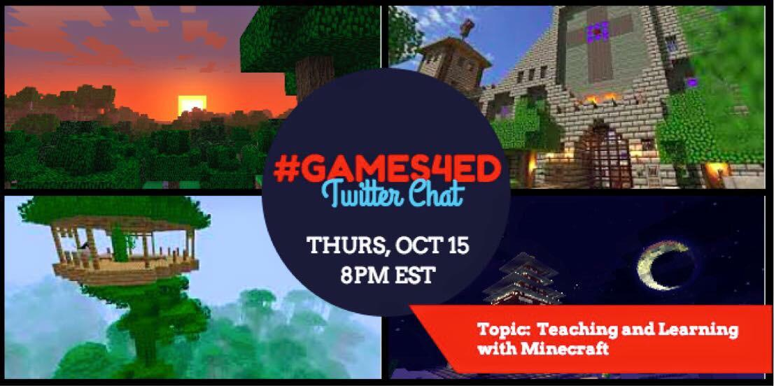 Thumbnail for #games4ed 10/15/2015