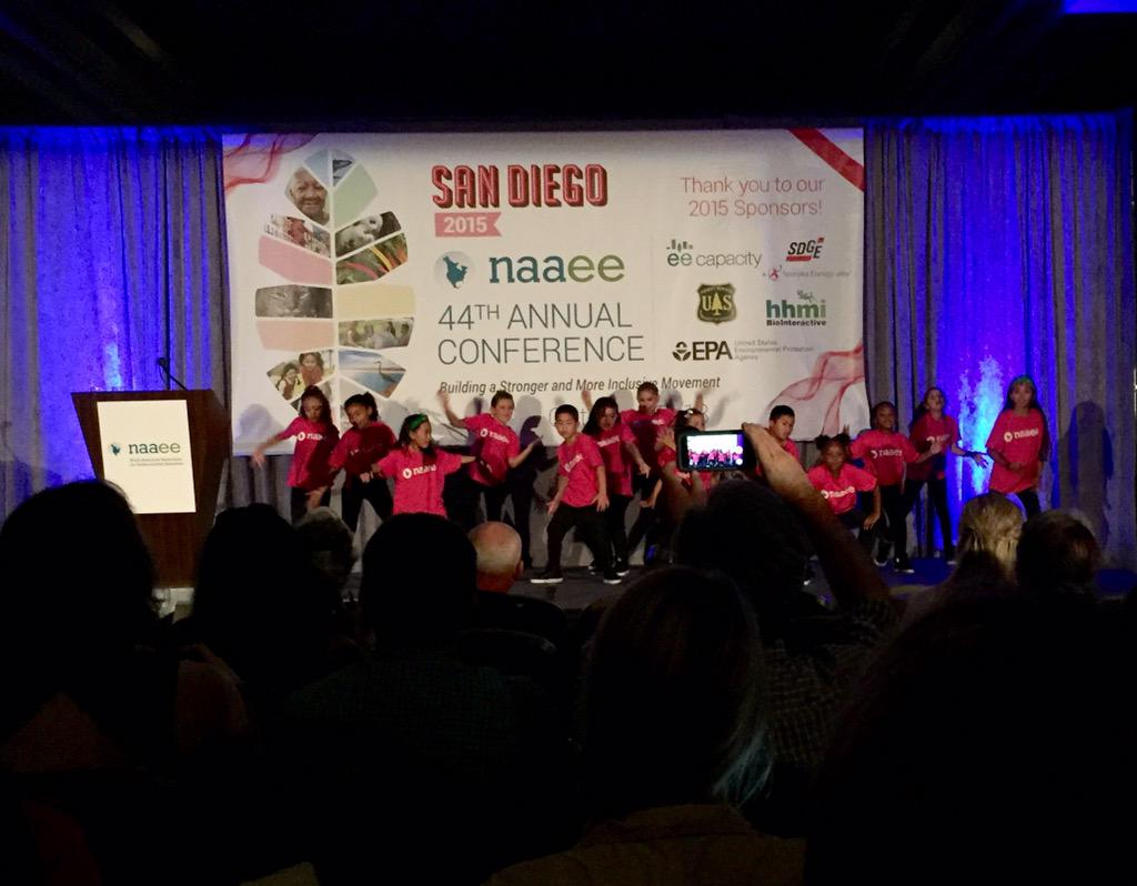 Greeted by an AWESOME Dance Crew at the #NAAEE2015 Opening Ceremony! http://t.co/eF1cvsmlRg