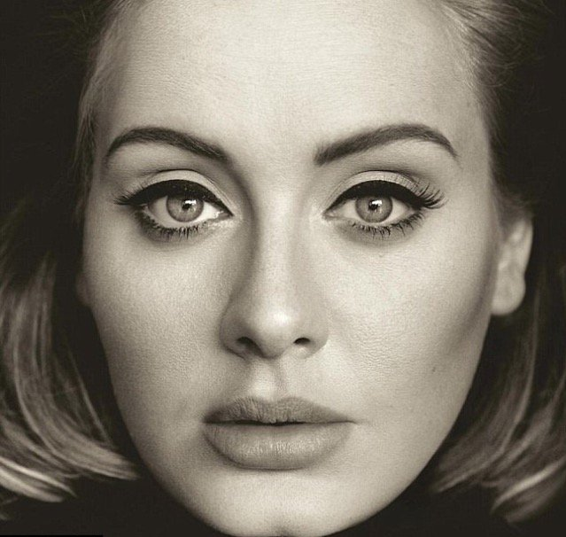 Adele is a great singer.... BUT who does her eyeliner????