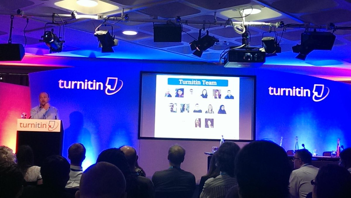 Introduction at the Turnitin User Group 2015 by Will Murray @CTELKCL #tii2015 https://t.co/qUY2T1uLph