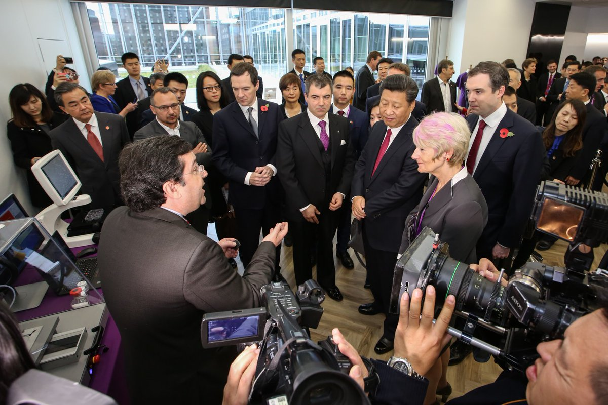 Thumbnail for President Xi of China visits The University of Manchester