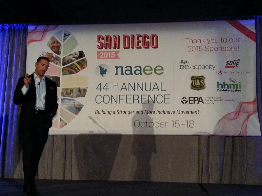"""#Diversity and #inclusion is hard. Really hard."" - @iStevePemberton discussing our conference theme at #NAAEE2015 http://t.co/wtQal8lFYG"