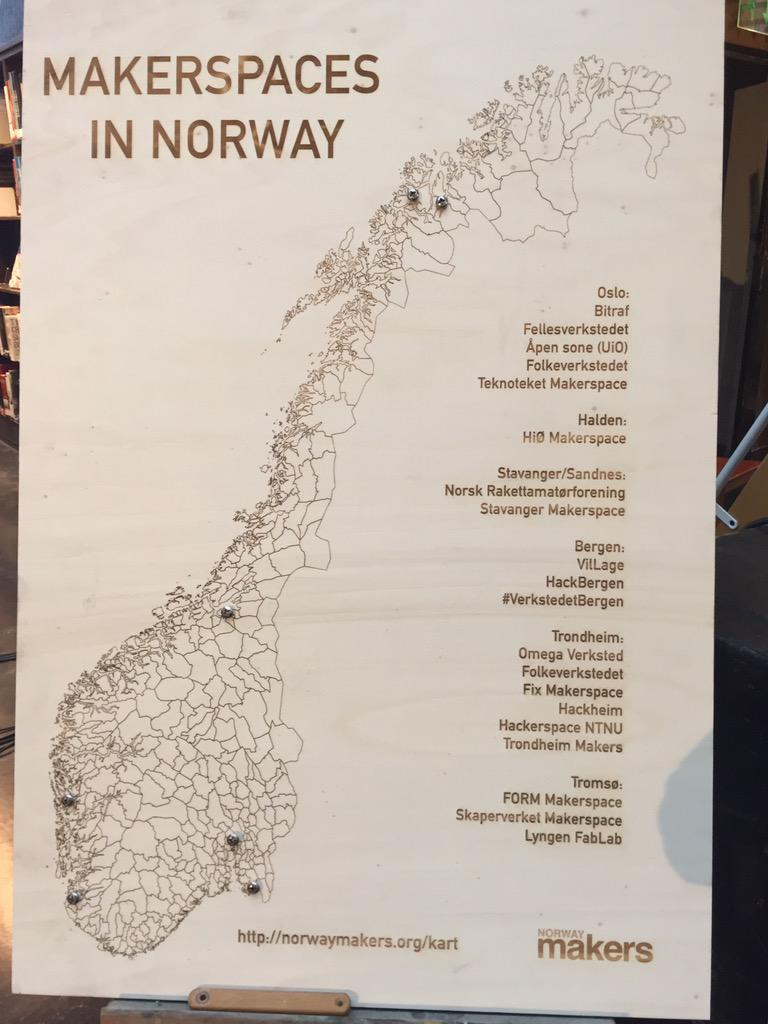 Norway Makers On Twitter One Last Day Of Thinking Big Osloiw