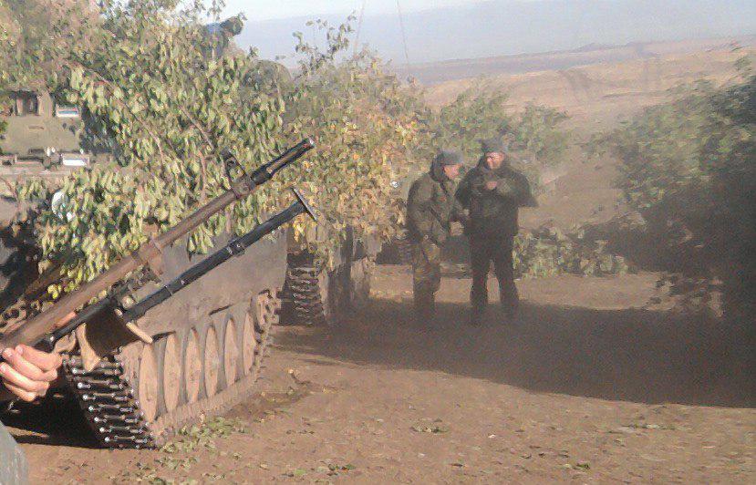 Отвод вооружения на Донбассе проходит по плану, - штаб АТО - Цензор.НЕТ 5438