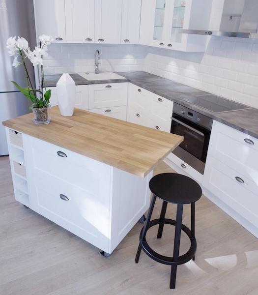 Ideal keittiöt on Twitter  Pyörällinen saareke on pienen keittiön pelas