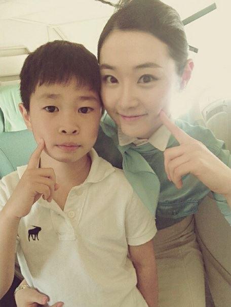 Kim yuri on twitter koreanair aircrew selca for Korean air cabin crew requirements