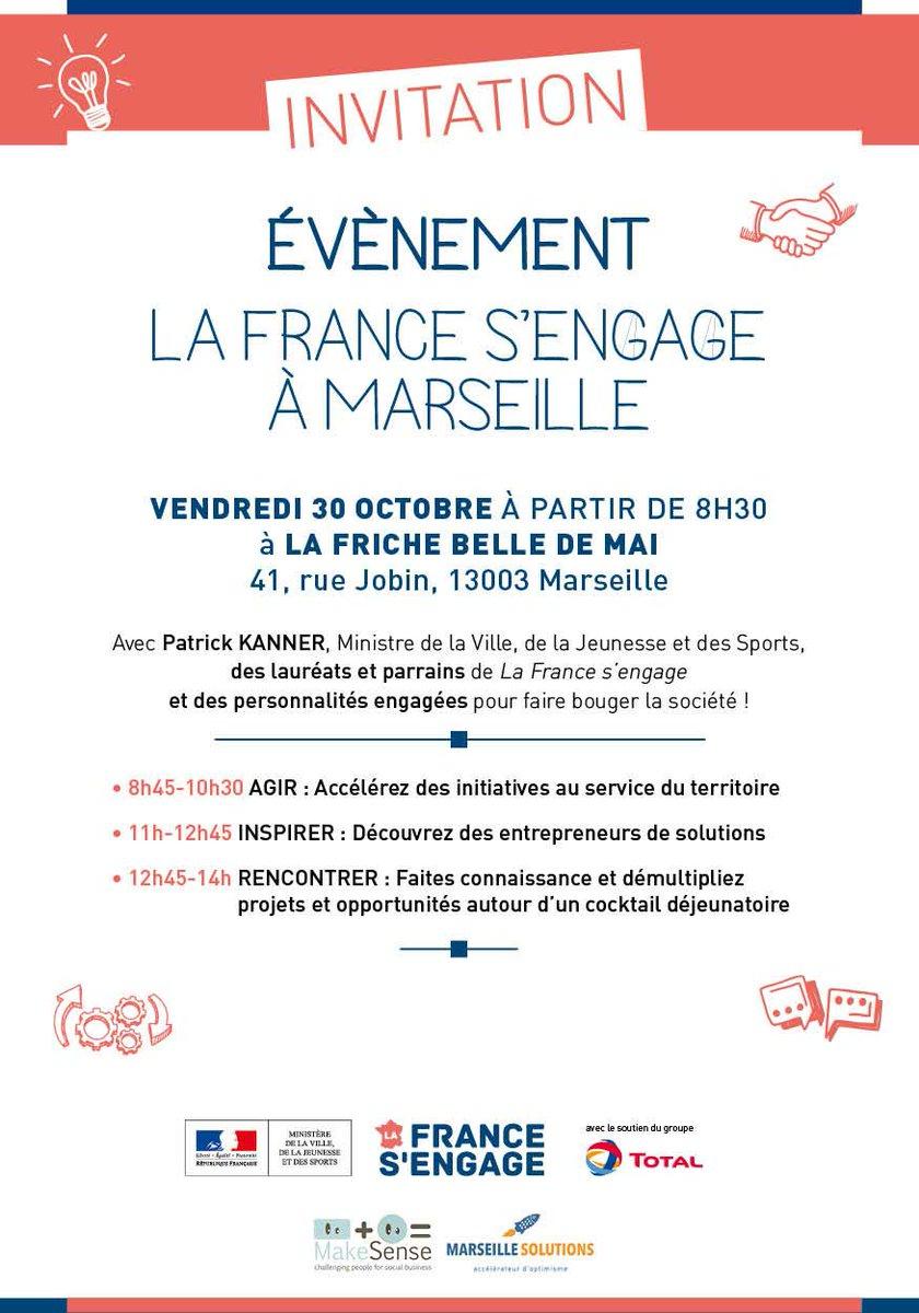 #LaFrancesengage à Marseille le 30 oct. ! Programme : http://t.co/0Af2c9jRNj Inscription : http://t.co/FyLanSSoY3 http://t.co/hNAhAea2jc