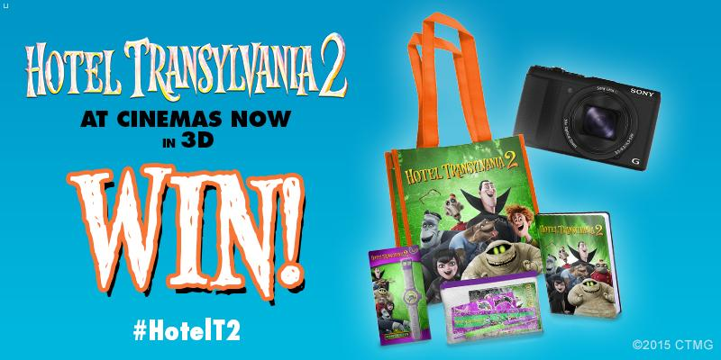 For the release of #HotelT2, follow&RT to #win a goody bag & camera from @SonyPicturesUK http://t.co/CmLUxVWjKc http://t.co/B1ApYt4BUL